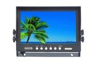 Wholesale New inch Stand Alone Car Monitor with way video input and sun visor x480 resolution built in speaker
