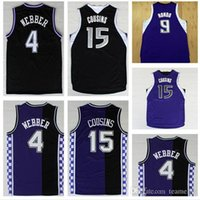Wholesale Retro Chris Webber Jersey Throwback Stitched DeMarcus Cousins Jason Williams Jersey