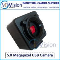 Wholesale High Definition Camera USB Megapixel Color Industry Electron Microscope Eyepiece Machine Vision Camera