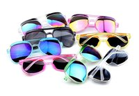 baby frame designer - Fashion Kids Child Polarize PC Sports Sun Glasses Baby For Girls Boys Outdoor Designer Sunglasses Candy Colors Free Ship S1040