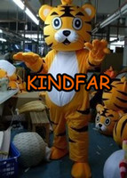 Wholesale King Tigger Mascot Costume Tiger Adult Fancy Dress Cartoon Character Party Outfit Suit