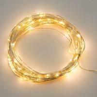 Wholesale 4M LED String Copper Wire Fairy Lights Battery Powered Waterproof for christmas Party VER66 SYSR