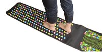 Wholesale 170 cm Massage cushion Acupressure Mat Relieve Stress Pain Home Health Acupuncture Feet Yoga Mat with Pillow