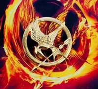 mockingjay - Good Quality The Hunger Games MOCKINGJAY PIN Authentic Prop imitation Jewelry Katniss MOCKINGJAY PIN