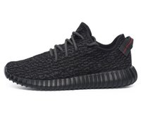Wholesale Hot Sale Kanye west Boost Pirate black Running Shoes Footwear Sneakers Men And Women milan Sport Shoes Turtle dove Moonrock Pink