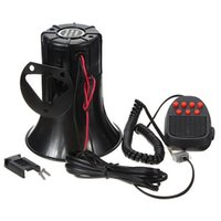 Wholesale 100W Sound Tone Car Motorcycle Truck Home Loud Siren Alarm Loudpeaker Horn