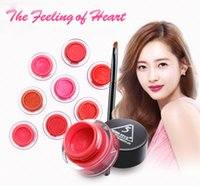 air eyes - 2016 New Air Cushion Lipstick Waterproof Lasting Moisturizing and Nourishing Non Stick Cup Lipstick Lip Gloss Eye Shadow Blush Three in One