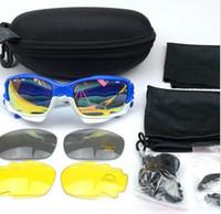 Wholesale 2015 Brand Man Women Cycling Sports Sun Glasses MTB Bike Outdoor Eyewear Racing Bicycle Goggle Sunglasses Color Lens