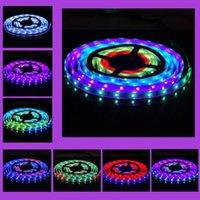 5M 5050 RGB 150LED 6803IC IP67 imperméable à l'eau magique Dream couleur LED Strip light 12V