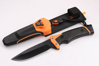 bear grylls - raeB erbreG GRYLLS GB Bear Bell Ultimate Survival Knife cm Hrc g camping hunting knife folding knife