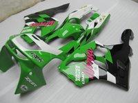 Wholesale 3 Gifts New Bodywork fairings Kits for KAWASAKI Ninja ZX6R ZX R Motorcycle Fairings set Green white black