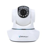 Wholesale Vstarcam T6835WIP P2P IP Network Camera Wi Fi Pan Tilt IR Cut Two Way Audio Micro SD Card Slot Plug Play