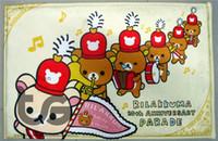 Wholesale Cartoon bear A type series mat D08027 Front door mat bathroom mat soft warm water absorption cartoon bear mat carpet CM