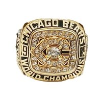 Wholesale 1985 American football Chicago Bear sale Super Bowl Replica Sports Men Replica Chamberlain Replica championship ring material VIP STR0