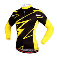 Wholesale WOSAWE Quick Dry Breathable Cycling Jersey Long Sleeve Summer Spring Men s Shirt Bicycle Wear Racing Tops Cycling Clothings