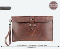 Wholesale The new men Han edition men s handbags business tide male envelope hand caught leisure handbag
