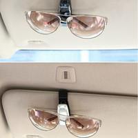 auto sunglass holder - Car Glasses Clip Fastener Vehicle Auto Sun Visor Sunglass Eye Glasses Card Ticket Holder Clamp W055