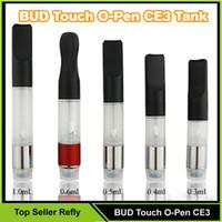 Wholesale BUD Touch O pen CE3 atomizer CBD hemp vaporizer e cigarette vape mods ecig Oil Cartridge tank wax hot sale