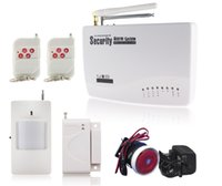 auto intercom systems - New Intercom home security wireless GSM alarm system MHZ with english voice Hot Sell