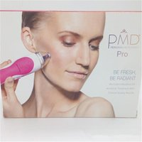 Wholesale 2016 PMD Pro Skin Care Tools Personal Microderm Pro Microdermabrasion Face Device Tools Grey Pink Colors vs facial cleansing brush
