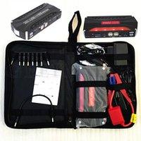 Wholesale Mini Portable High Capacity mah V Car Jump Starter Emergency USB Power Bank Battery Charger for Petrol Diesel Car A Peak Current