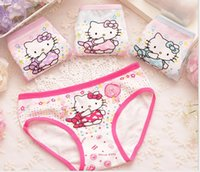 Wholesale New kids briefs hight quality Children s underwear baby cartoon children s underwear girls cotton panties from Lomefo