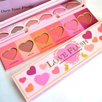 Wholesale Makeup Face Love Flush Blush Long Lasting hour Wardrobe Palette colors Blush