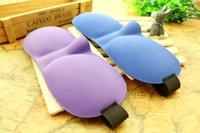 Wholesale Hotsale D Eye Mask Sponge Shade Nap Cover Blindfold Mask Eyeshade Sleep Masks for Sleeping