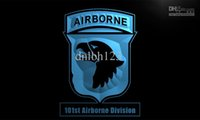 army tm - LI186 TM st Airborne Division Army Neon Light Sign Advertising led panel Wholes