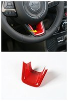 Wholesale ABS Steering wheel decorative trim cover for Jeep Renegade