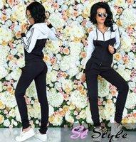 Wholesale 2016 autumn new style cotton white stitching brace suit stock sale