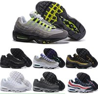 Cheap 2016 New 95 Running Shoes max Men Sneakers High Quality Original Cheap Discount 20th Walking Men's For Sale Sports Shoes Size 7-12