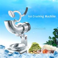 bar ice crusher - Electric ice crusher machine stainless steel ice chopper Crushed Ice Machine ice crushing machine with handle and bowl