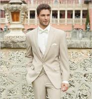 best destinations - New Arrival Allure Two Buttons Groom Tuxedo Best Man Groomsman Suit Men Destination Wedding Suits Formal Suit Jacket Pants Vest