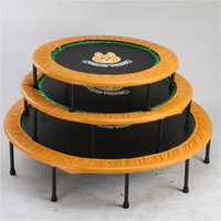 baby exercise equipment - 40 Inch Kids Trampoline Folding Safety Bounce Jumping Toys Durable Children Indoor Exercise Equipment Baby Bounce Bed MD0092