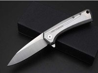 zero - 2016 NEWER ZT Folding knife Zero Tolerance D2 blade HRC Folding Knife gift knives freeshipping