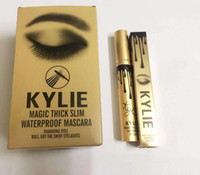 Wholesale New High quality Kylie mascara makeup maquiagem brand mascaras rimel curling waterproof Magic Thick Slim Waterproof Black Mascara beauty g
