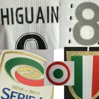 Wholesale Match Worn Higuain Dybala Player Issue Shirt Jersey Custom Soccer Patch