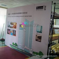 Wholesale 3X4 fabric POP up banner quality POP up spring POP up banner custom printing with your design