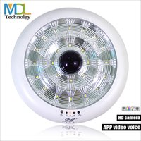 Wholesale Modern LED Ceiling Light With Wifi RF Remote Controlled Warning systems by Mobile monitored high definition video people led ceiling light p