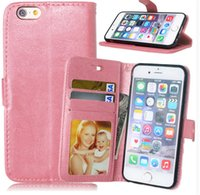 Cheap For Samsung for iphone 6 leather case Best Leather Purple smart phone case