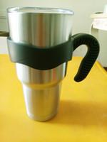 Wholesale Handles for Yeti Tumbler Rambler Cups Vacuum Insulated oz Beer Mug Holders Travel Tumbler Handles Different Colors Customer Logos Printed
