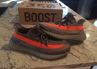 Wholesale Boost V2 Running Shoes Sply Solared Sneakers Boost Season Kanye West Sports Shoes With Original Box Socks