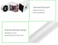 Wholesale t8 led fixture mm mm mm T8 tube fixture support bracket