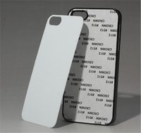 heat press - For Iphone s s Plus S c S DIY Sublimation Heat Press PC Cover Case With Aluminium Plates DHL Free SCA086