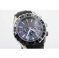 aqua brand dress - brand new watch men quartz Aqua Terra waches Co Axial planet ocean watch black leather belt watches men dress wristwatches