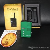 Cheap Davinci Dry Herb Vaporizer Kit E-cigarette Kit Vapor Herbal Wax Portable 2200mah VS Da vinci Ascent Vaporizer Mod Titan 2 Snoop Dogg G Pro