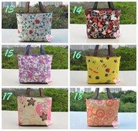 Wholesale new brand canvas bags Lunch Bag Food Cooler Bags Thermal Women Handbag Women Messenger Bags