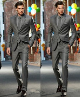Cheap Dark Grey Slim Fit Suit | Free Shipping Dark Grey Slim Fit
