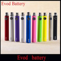 Wholesale eGo E Cigarette EVOD Battery mah mah mah EVOD Battery for MT3 CE4 CE5 CE6 Electronic Cigarette E cig Kit Vape Batteries Instock
